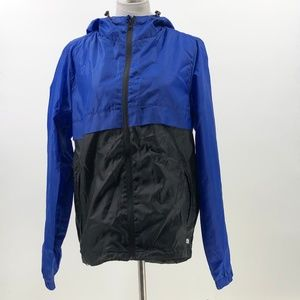 Lot 29 windbreaker jacket full zip packable M